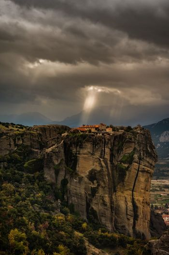 the sky opens for the meteora monastery... Dramatic Lighting EyeEm Market © Eyeem Marketplace Griechenland Heaven Heavenly Meteora Monastery Moody Sky Nature Collection Sky Collection Dramatic Dramatic Landscape Eyeem Photography Eyeem Photo Color Eyeem Best Shots Eyeem Gallery Greece Heaven On Earth Mood Mountain Peak Nature Beauty Photography #photo #photos #pic #pics #tagsforlikes #picture #pictures #snapshot #art #beautiful #instagood #picoftheday #photooftheday #color #all_shots #exposure #composition #focus #capture #moment Sky Only Sky_collection Sun Light Sun Rays Viewpoint The Traveler - 2019 EyeEm Awards