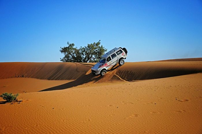 Desert Jeep Extremesport Action