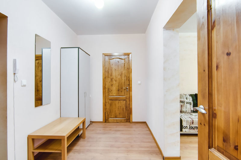 Door Entrance Wood - Material Indoors  Architecture Home Interior Building No People Built Structure Wood Domestic Room Absence Wall - Building Feature Arcade Corridor Flooring Home House Home Showcase Interior Empty Modern Ceiling Luxury