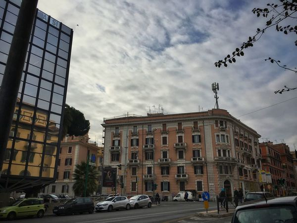 Street Photography Street Streetphotography Clouds Clouds And Sky Moving Around Rome Car Architecture Built Structure Building Exterior Land Vehicle Cloud - Sky Mode Of Transport Sky Transportation Day Outdoors City No People