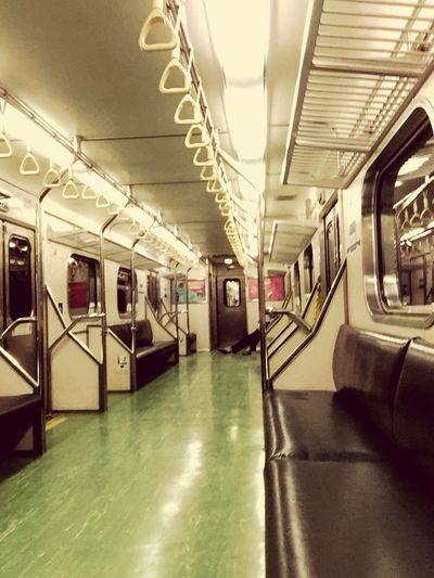 On the train 區間車