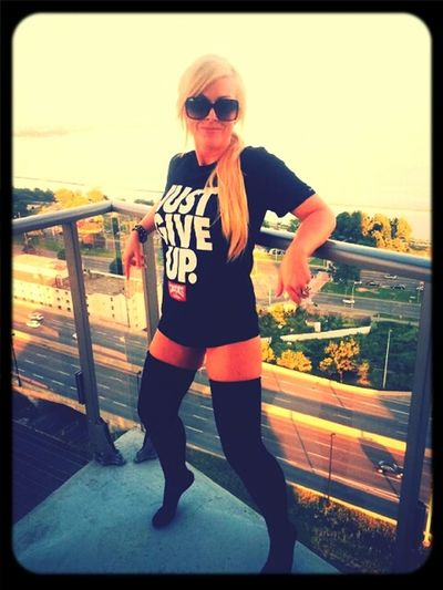 Just give up.. ? Or maybe just try harder... Hello World Blondie 4 Life♥ Nevergiveup