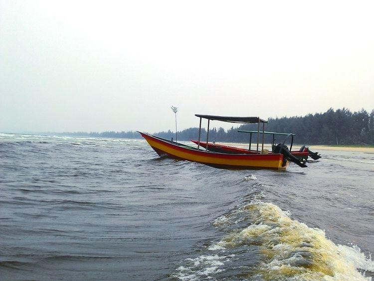 Cheratingbeach Malaysia Boat Beach Edge Of The World