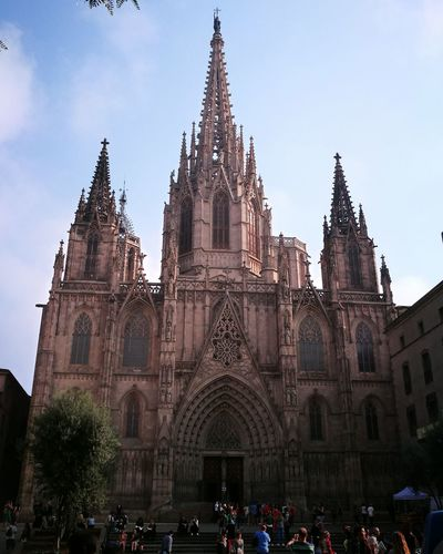 Barcelona Barcelona, Spain Catalunya Architecture Religion History Day People City Sky Outdoors Travel EyeEm Vacations 🇪🇸 Ilovebarcelona