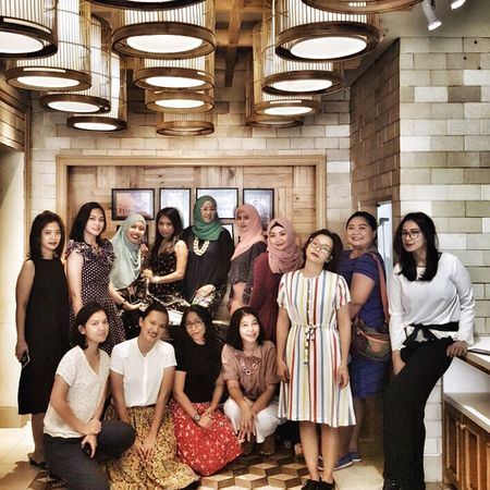 Arisan 4 - 2017, at Kedai Kopi Tenong, Cipete Raya. Arisan IMCH By ITag Arisan Ex IMLC's MOMs By ITag Arisan 4/17 By ITag ImpressiveMindsMoms Mobile Upload-Me & Friends