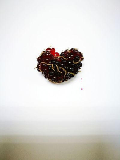 Studio Shot White Background Red No People Healthy Eating Freshness Food Close-up Day Mulberry