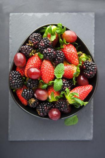 Raw fruits