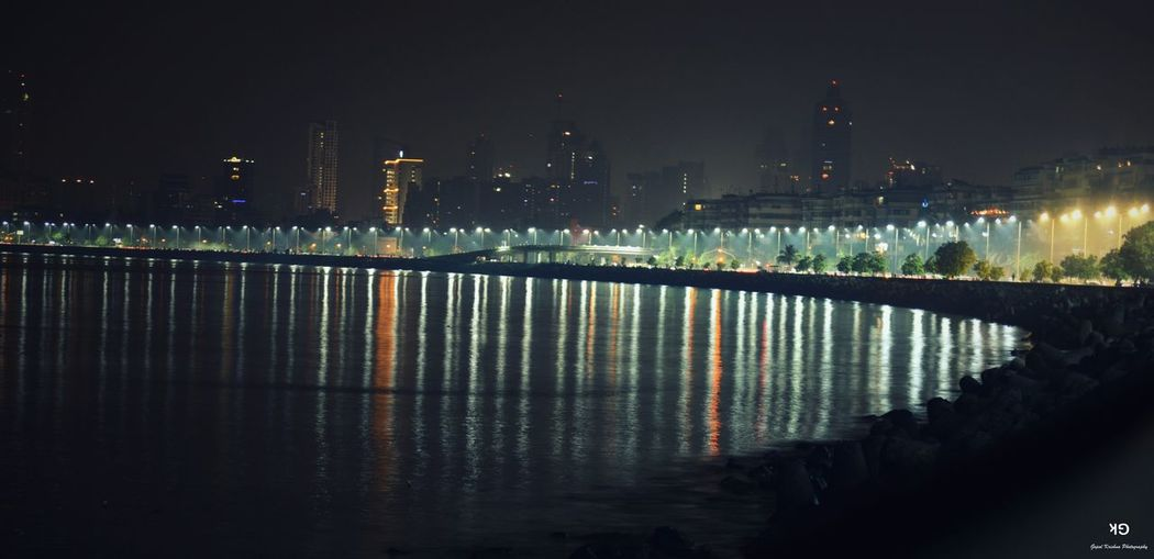 Nightphotography Marindrive Mumbai MeriJan