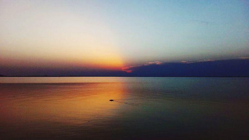 Sea Sunset Halflight Halfdark Riflection Photography Nature Landscape