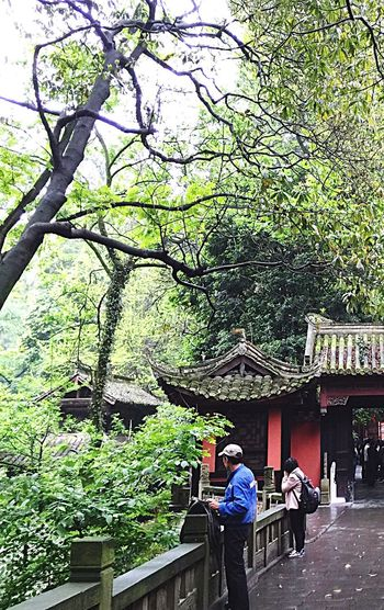 An Ancient Place In Chengdu China Athleisure Tide Pants Ancient Place Ancient Architecture Ancient Building Structure Design Travel Outdoors Trees Woods People Woman Man Chengdu China Colour Of Life Two Is Better Than One People And Places