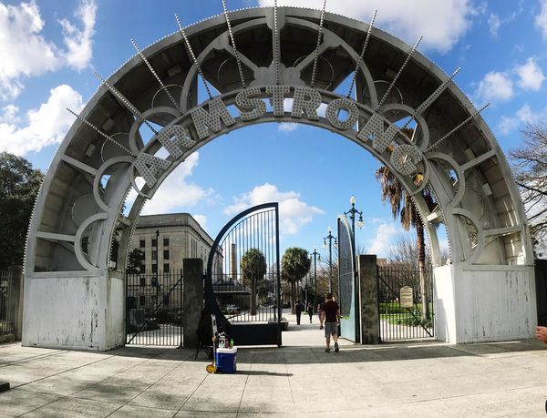 Parks And Recreation Tourist Attraction  Tourist New Orleans EyeEm New Orleans, LA Louis Armstrong Armstrong Blue Sky Panorama Gate Park Nawlins New Orleans NOLA Louis Armstrong Park Sky Cloud - Sky Architecture Built Structure Day Outdoors Building Exterior No People