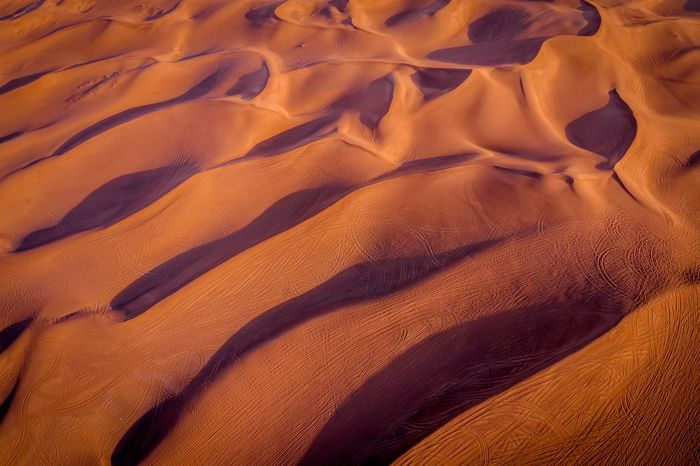 Land Sand Sand Dune Backgrounds Desert Full Frame No People Landscape High Angle View