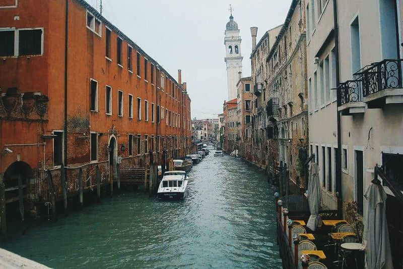 Architecture City Built Structure Water Travel Destinations Sky Day Venice, Italy Long Goodbye EyeEmNewHere The Secret Spaces Be. Ready.