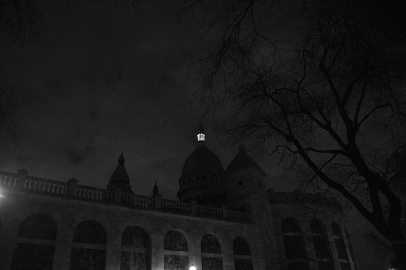 Sacré Coeur, Paris Architecture Night Photography Simplicity Pure Beauty