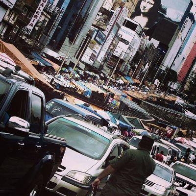 Street Streetphotographer Cars Caos Traffic City Ciudaddeleste Paraguay Monalisa