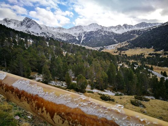 EyeEm Selects Mountain Snow Mountain Range Cloud - Sky Winter Cold Temperature Nature Scenics Beauty In Nature Andorra🇦🇩