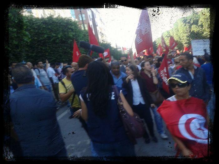 marche du Jomhouri 23oct AvHB Tunis