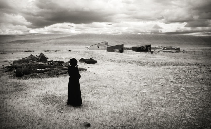 What Was (No. 2) Colorado Death Drama Dramatic Sky EyeEmNewHere Field Ghost Infrared Ranch Abandoned Blackandwhite Cloak Cloud - Sky Fantasy Haunted Landscape Monochrome Mystery One Person Rurex Scary Spooky Time Wide Open Spaces