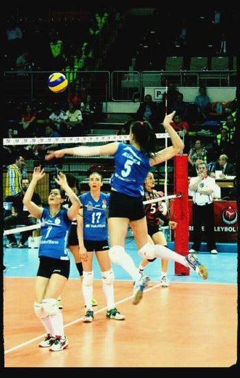 Ankara Baskent Volleyball Sallon Sport Time