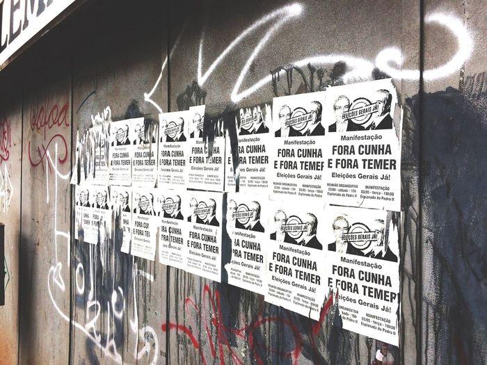 As vozes das ruas tem poder Foratemer