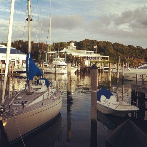 Sunset, boats, and reggae music