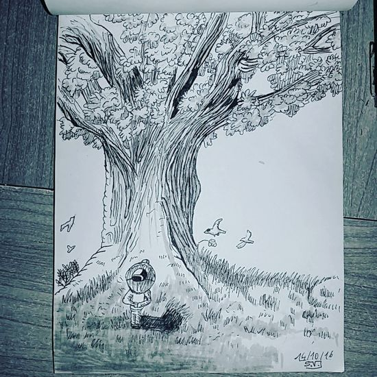 By Sam inktober day 14 tree Art Gallery Illustration Paper Art, Drawing, Creativity Tagsforlikes Drawning Inktober2016 Inktober Arts Drawing Art Drawings Ink Draw Black And White Sketch