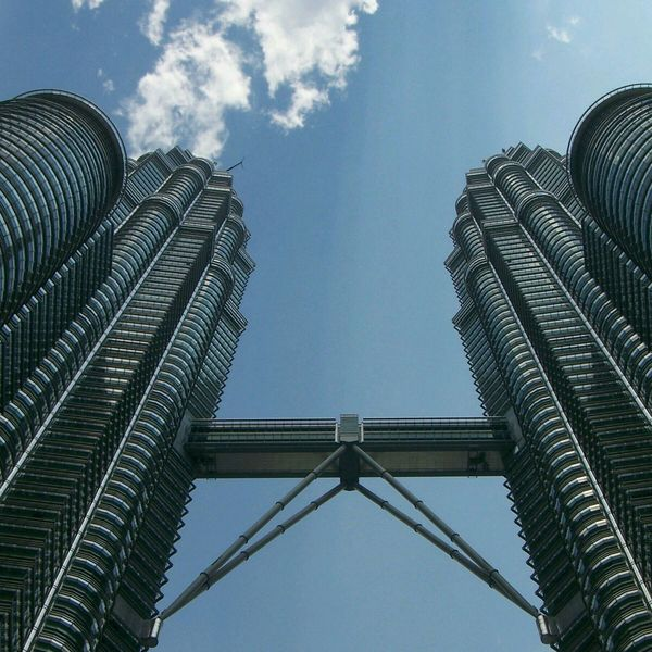 The other twin towers - Petronas Twin Towers - Kuala Lumpur, Malaysia Twin Towers Petronas Kuala Lumpur Malaysia