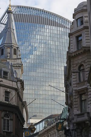 The Changing City Architecture Modern Traditional Juxtaposition Old And New Urban Landscape London The City Unedited Urban Architecture City Architecture_collection WalkieTalkie Skyscraper EyeEm LOST IN London