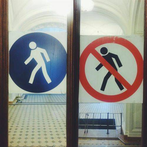 Entry/Exit. Hmmm... >_< University University Life Everyday Life Funny Stickman Stick Man Russia, St.Petersburg EyeEmRussianTeam
