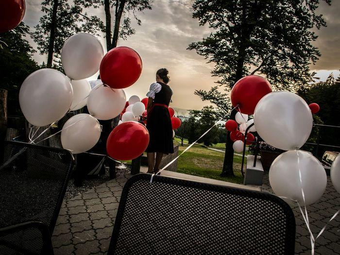 What I Value Ballons AirBalloon Dawn Mood Captures EyeEm Best Shots Albis Switzerland Dirndl Wedding Photography