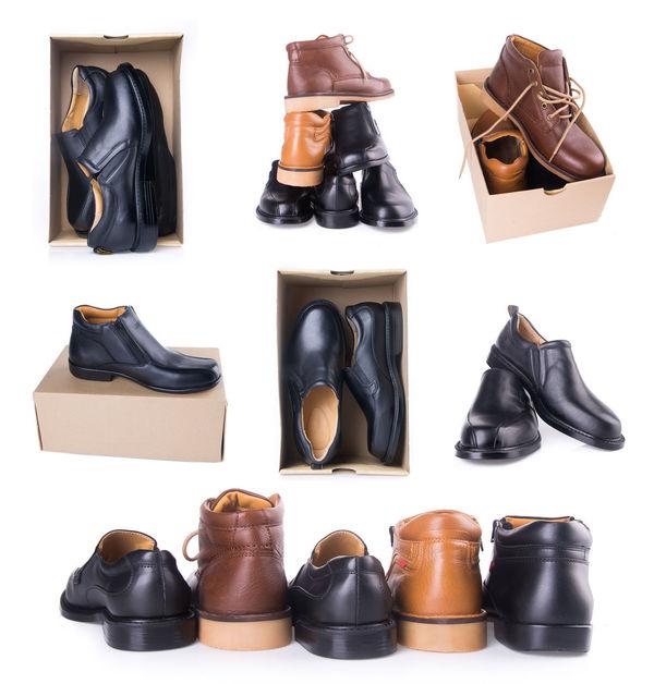 Belt  Black Color Clothing Collection Dress Shoe Fashion Formalwear Menswear Necktie No People Pair Shoe Studio Shot Textile Industry Variation Wallet White Background