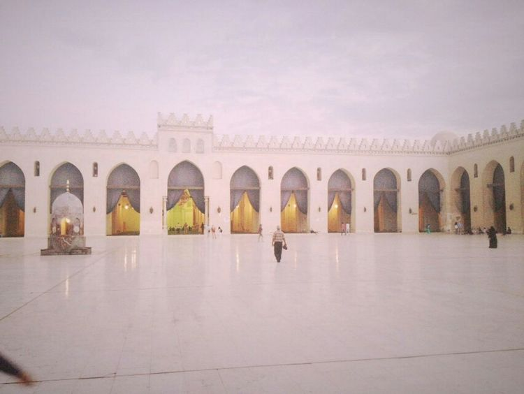 Egypt Masjid Elhussien Historical