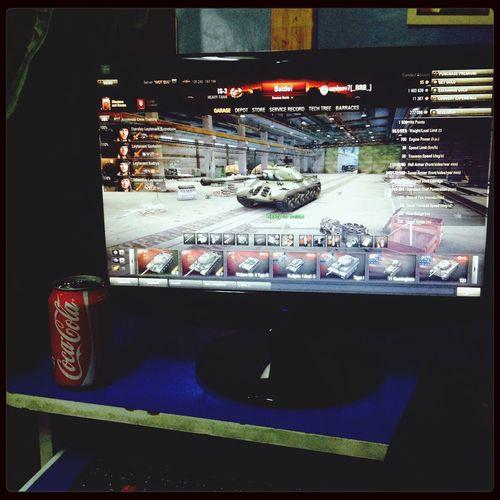 Playing Games World Of Tanks Coca Cola Enjoying Life