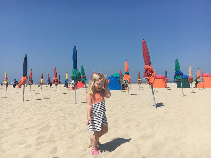 Land Beach Sand Childhood Child Sky Nature