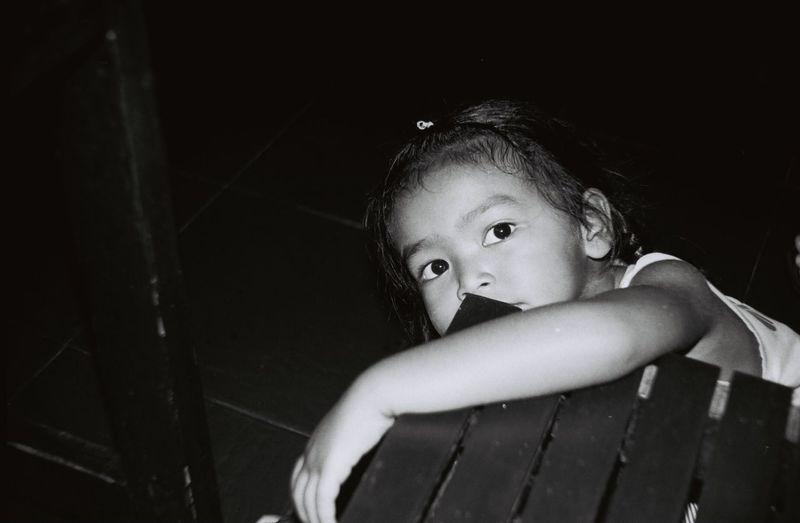 Minolta Film Photography Childhood Ilfordpan100 Real People Bangkok Lifestyles