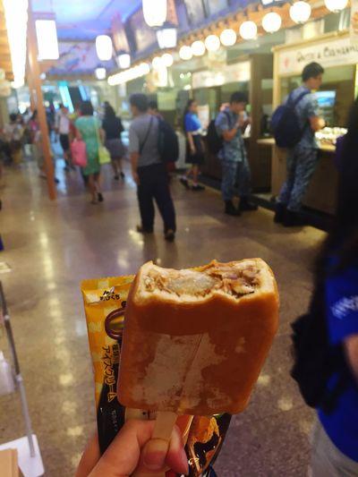 Street Food Worldwide Ice Cream Brown Moji On The Street Singapore Found On The Roll Bite Take A Bite
