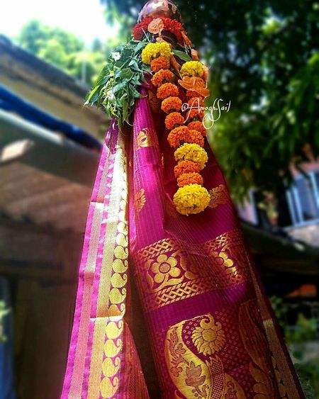 Gudhi Padva(Template:गुढी पाडवाGuḍhī Pāḍavā) is derived from theSanskritname forChaitraShuklaPratipad.It is celebrated on the first day of theChaitramonth to mark the beginning of the New year according to thelunisolar Hindu Calender. Festivals Of Indian Culture  Indiantradition 2017 Festivemoment