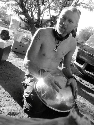 playin a drum