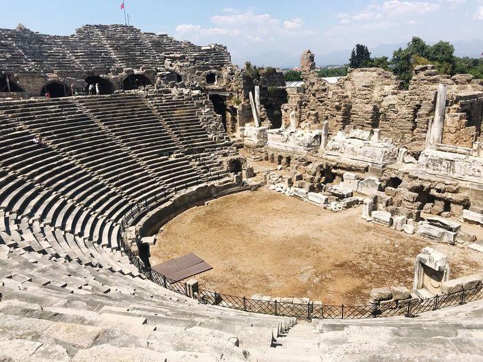 Theater/Tiyatro Arena Side Antik Kent Antik Tiyatro Arena