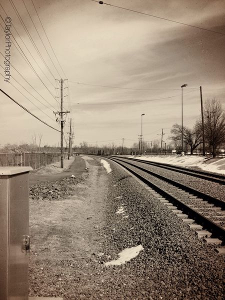 Side Track..  Iphoneography Train Tracks Taylorphotography