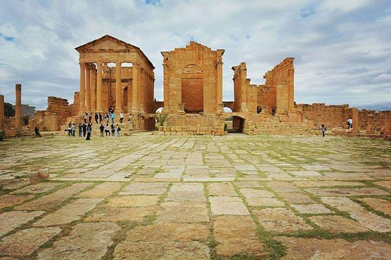 Tunisia IgersTunisia Sbeitla History Carthagina Kasserine  Wikilovesmonuments كيما قالو في الويبوست :) شبابة خلاص :p