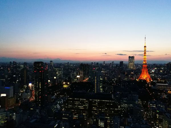 Cityscape City Sunset Skyscraper Travel Destinations Building Exterior Urban Skyline High Angle View Architecture Sky Outdoors City Life Night Downtown District Modern Tokyo,Japan Tower City Life Tokyo Sky Tree Architecture Cityscape Romance Travel Traffic Sky Trees And Clouds
