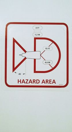Hazard area Danger Turbine Hazard Area Aircraft Airport Chile Working Day Airportphotography Aviationphotography