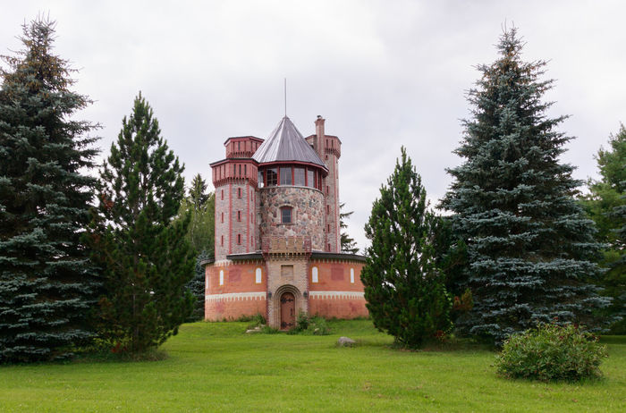 Pink Castle If Trees Could Speak Iftreescouldspeak Abandoned Places Castle Abandoned Abandoned Buildings Architecture Beauty In Nature Building Exterior Built Structure Day Grass Green Color History Nature No People Outdoors Sky Tree EyeEmNewHere