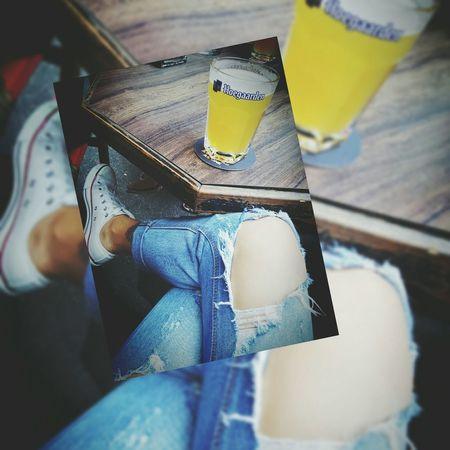 Peost papa ! Chilling Relaxing Refreshing :) I ❤ Beer Makesense