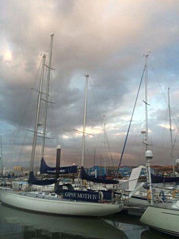 Moody seas Boat Sailing Sailing Boat Sailing Away Sailingboat Sailing Trip Sailing Vessel Sailing Ships Sailing Yacht Sailing :) Clouds And Sky