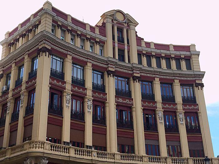 La arquitectura de Madrid siempre sorprende.