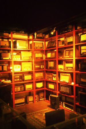 Immigration Museum Oldies Gramafon Records Radio from my friend's lens?
