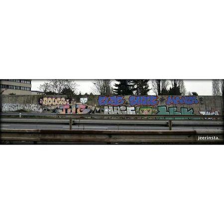90jrs après. Streetart Graffiti 91