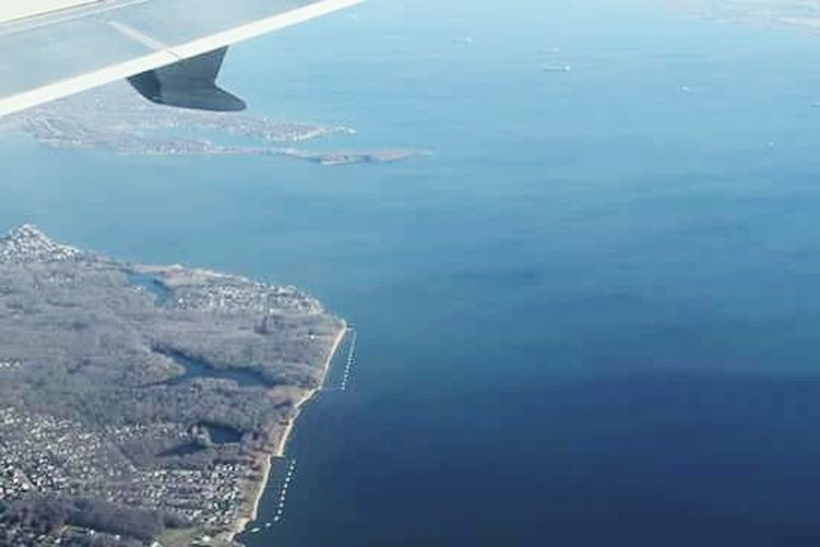 Airplane Aerial View Flying No People Transportation Outdoors Water Sea Nature Air Vehicle Day Beauty In Nature Sky Airplane Wing Atlanta International Airport Beauty Horizon Over Water EyeEmNewHere Sea And Sky Beauty In Nature Baltimore Delta Airlines Sky And Clouds Nature Travel